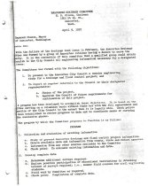 Image of Drainage Committee letter