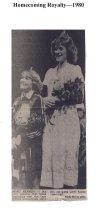 Image of Homecoming Royalty 1980