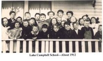 Image of Lake Campbell School-c. 1912