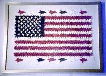 Image of AA 2002.0130.003 - Origami crane flag