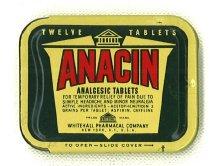 Image of Anacin Pillbox