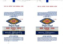Image of Red Rock Cod label