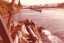 Image of W.T. Preston with snags at Ballard Locks