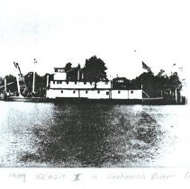 Image of SKAGIT II, 1909, Snohomish River.