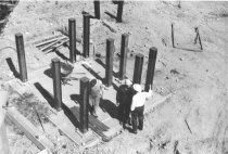 Image of Chemical tank support piling 1963