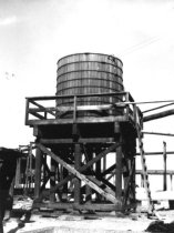 Image of New wood stave tank 1959 (.093)