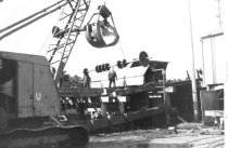 Image of Salvaging saw mill machinery 1960 (.115)