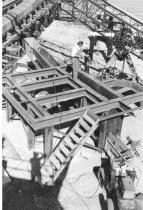 Image of Tank support frame work 1963 (.125)