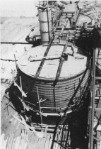 Image of Wood stave tank 1959 (.132)