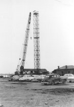 Image of Crane lifing fan 1968 (.021)