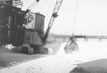 Image of Crane with clam (.025)