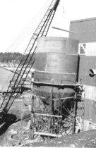 Image of Installing new steel hoppertank (.044)