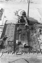 Image of New concrete pour 1956 (.079)
