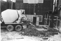 Image of New concrete pour 1962 (.080)