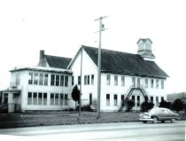 Image of West side of the Nelson School