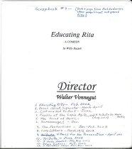 Image of #9 ACT Scrapbook 2002-2003