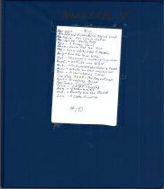 Image of #10 ACT Scrapbook