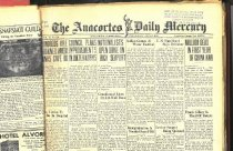 Image of Representation of 14 volumes of the Anacortes Daily Mercury