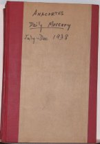 Image of Representation:  1of 14 bound volumes of Daily Mercury