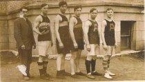 Image of 2008.043.009 - Boys Basketball team, AHS 1912