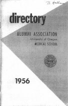 Image of 1956 Medical School Alumni Directory, Univ. of Oregon