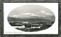 Image of 2008.067.015 - Postcard showing Mt. Baker from Anacortes, 1911