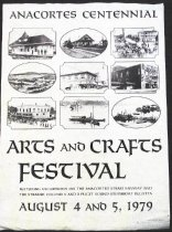 Image of Anacortes Centennial Arts and Crafts Festival poster 1979