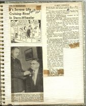 Image of P. 13 of Scrapbook:  Snagboat History No. 2