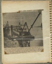 Image of P. 14 of Scrapbook:  Snagboat History No. 14