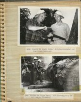 Image of P. 1 of Scrapbook:  Snagboat History No. 2