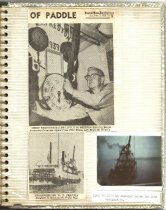 Image of P. 19 of Scrapbook:  Snagboat History No. 2