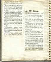 Image of P. 8 of Scrapbook:  Snagboat History No. 3.