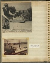 Image of P.10 of Scrapbook:  Snagboat History No. 3