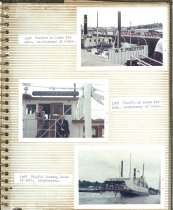 Image of P.11 of Scrapbook:  Snagboat History No. 3