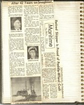 Image of P.16 of Scrapbook:  Snagboat History No.3