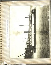 Image of P.1 of Scrapbook:  Snagboat History No. 3
