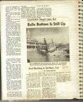 Image of P. 20 of Scrapbook:  Snagboat History No. 3