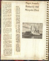 Image of P. 10 of Scrapbook:  Snagboat History No. 4
