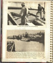 Image of P. 14 of Scrapbook:  Snagboat History No. 4