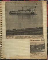Image of P. 15 of Scrapbook:  Snagboat History No. 4