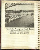 Image of P. 16 of Scrapbook:  Snagboat History No. 4