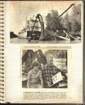 Image of P. 1 of Scrapbook:  Snagboat History No. 4