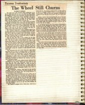 Image of P.2 of Scrapbook:  snagboat History No. 4