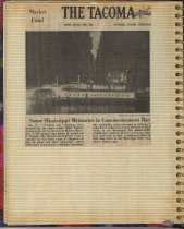Image of P.4 Scrapbook:  Snagboat History No. 4