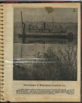 Image of P.5 of Scrapbook:  Snagboat History No. 4