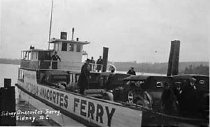 Image of .032 Anacortes Ferry with Guemes Ferry dock in background.