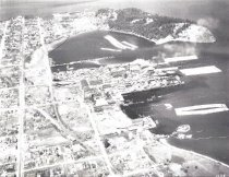 Image of Aerial view of Anacortes c. 1930's