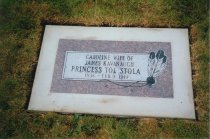 Image of Grave stone - Fern Hill Cemetery, Anacortes