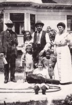 Image of LOWMAN, Jacob; Will and family