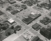 Image of 2010.009.019 - Downtown Anacortes - 1969